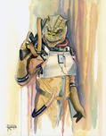 Star Wars Artwork Star Wars Artwork Bossk